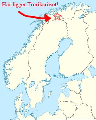avstånd karta Karta & koordinater över Treriksröset | Treriksröset.se avstånd karta